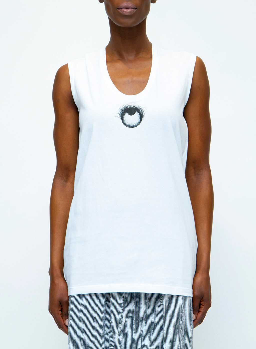 ANN DEMEULEMEESTER | Eye Tank Top