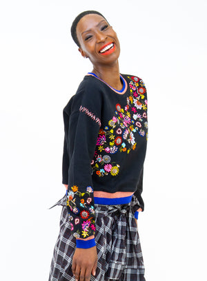 UGLY GIRL | 'Waltz of the Flower' Floral Sweater