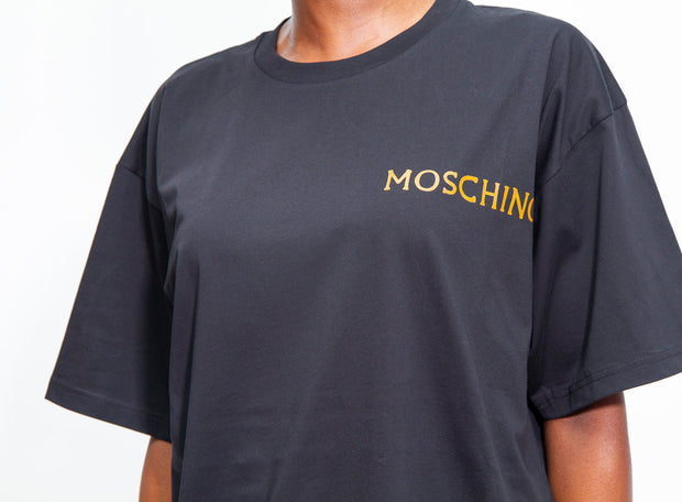MOSCHINO | Roman Graphic T-Shirt in Black