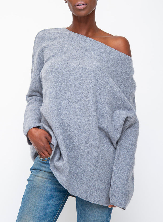 DUŠAN | Cashmere Sweater in Grey