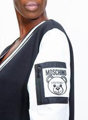 MOSCHINO | Teddy Label Fleece Dress