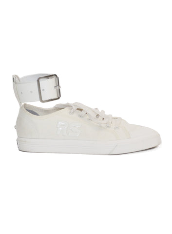 Raf Simons x Adidas | Adidas Originals Spirit Buckle Sneakers (off-white)