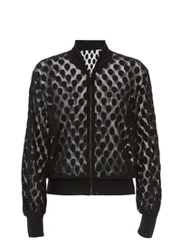 FUZZI | Juliette Sheer Bomber Jacket