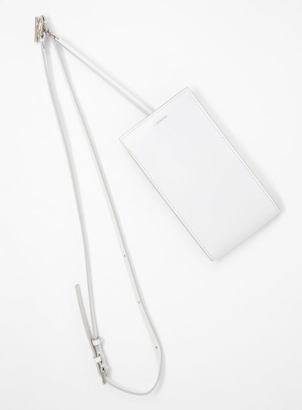 JIL SANDER | Leather Mini Belt Bag in Natural