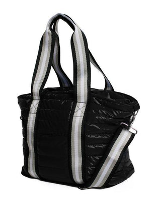 THINK ROYLN | Junior Wingman Tote Bag in Black