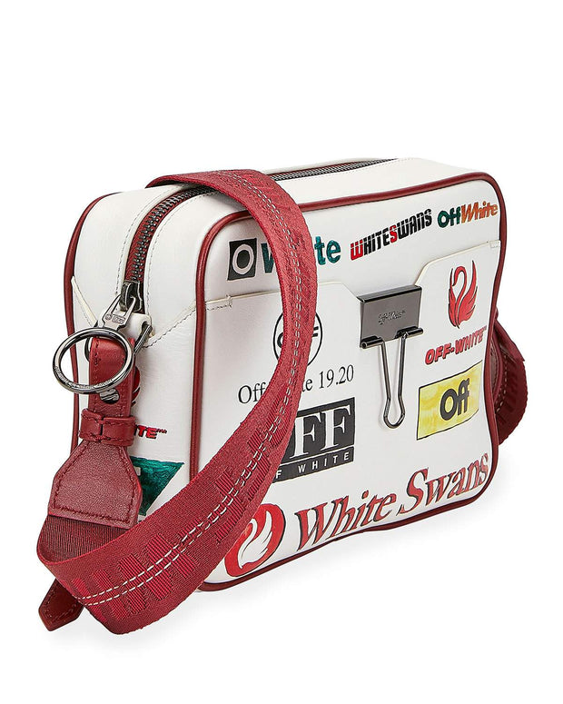OFF-WHITE | Multilogo Camera Shoulder Bag, Multicolor