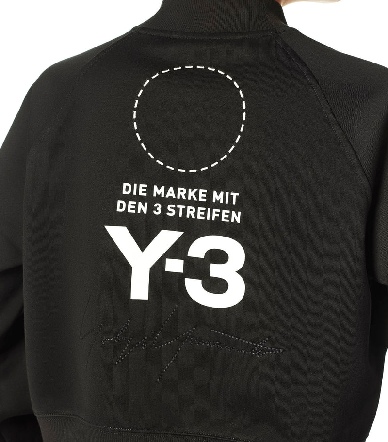Y-3 | Stacked Logo High Neck Sweater in Black