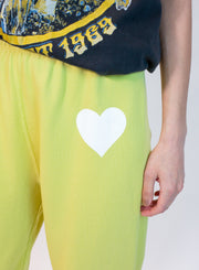 SPRWMN | Heart Logo Sweatpant in Butter
