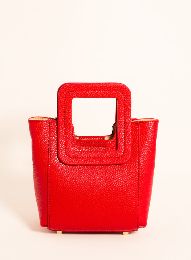 TMRW STUDIO | Antonio Toy Pebble Bag in Red