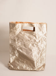 ZILLA | Satin Lunchbag with Handle in Sand