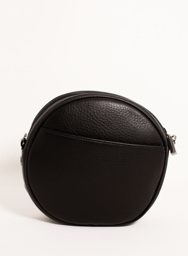 HAMMITT | Greg Small Circle Bag with Studs in Black