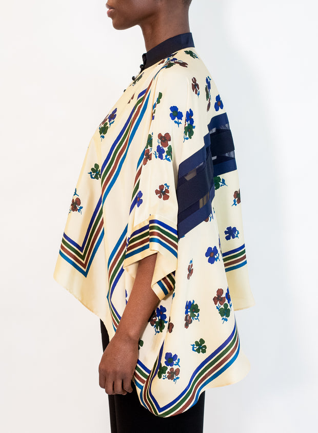 SACAI | Archive Print Mix Shirt
