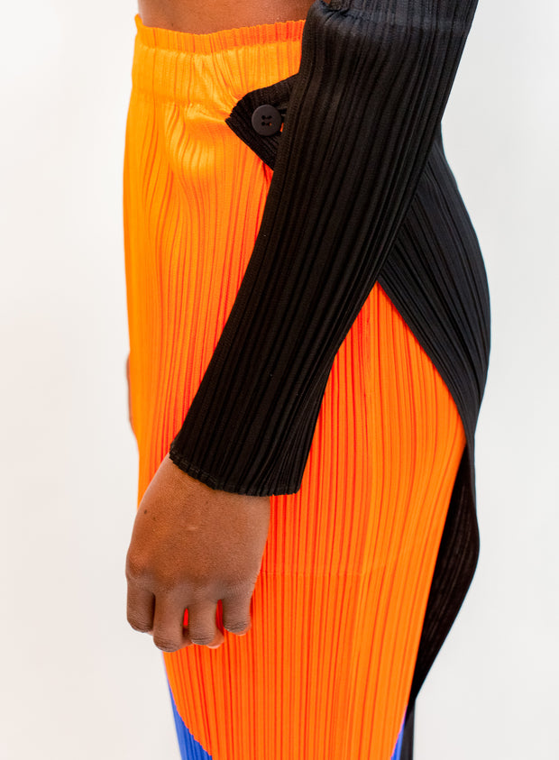 PLEATS PLEASE by ISSEY MIYAKE | Collage Skirt