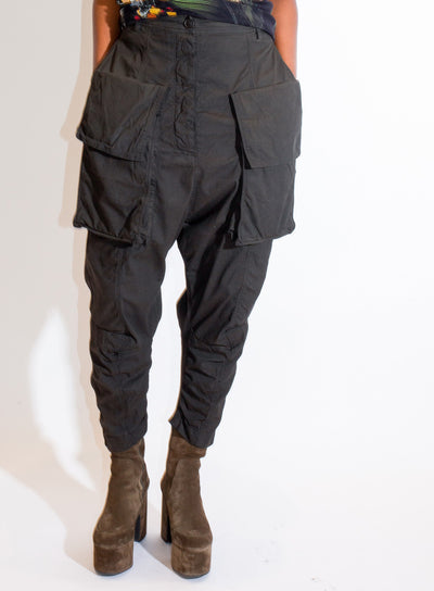 RUNDHOLZ | Drop Crotch Pant in Pine