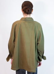OOF | Jacket with Pockets in Verte Military