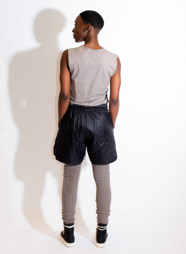 MONCLER + RICK OWENS | BOXERS IN BLACK LIGHTWEIGHT NYLON