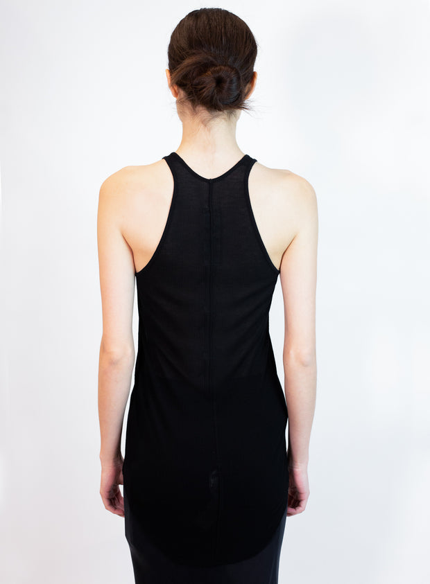 RICK OWENS | Basic Rib Tank in Black