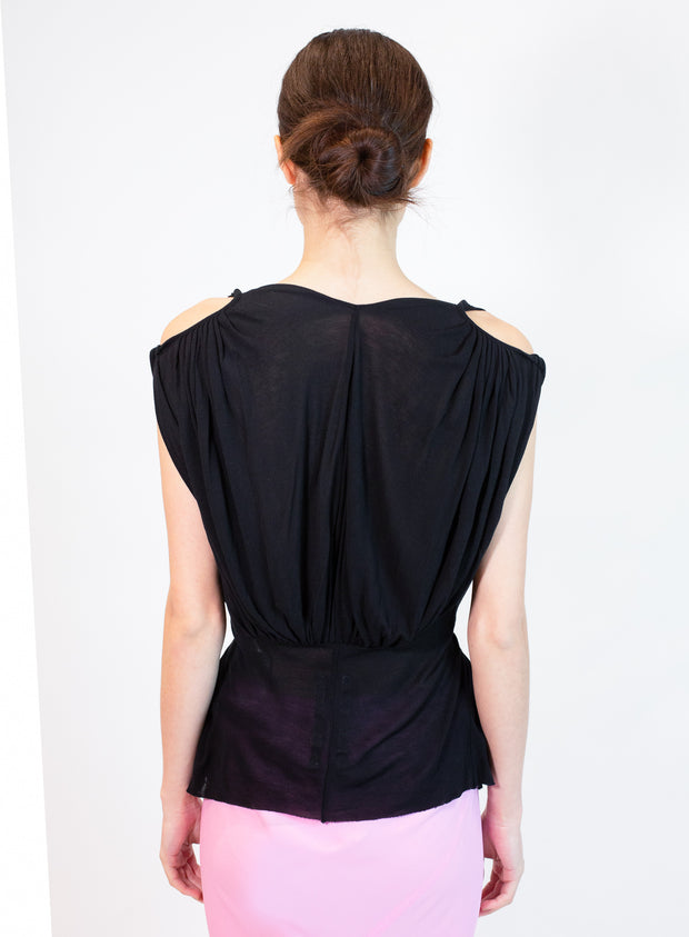RICK OWENS | Helena Top in Black