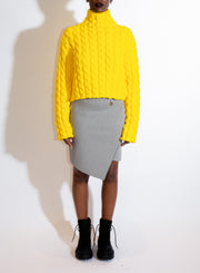 BALENCIAGA | Twisted Mini Skirt