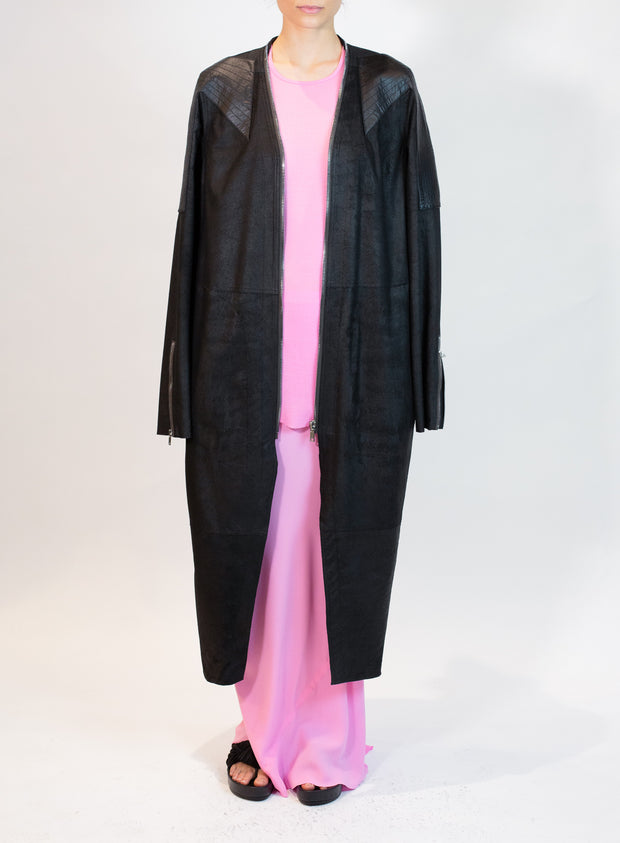 RICK OWENS | Klause Coat in Black