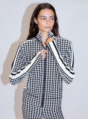 NORMA KAMALI |  Side Stripe Turtle Jacket