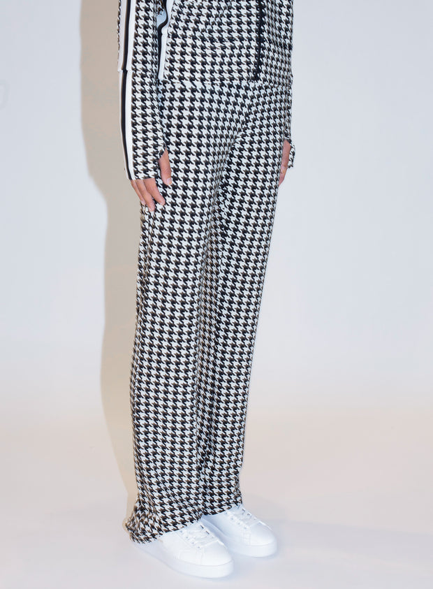 NORMA KAMALI |  Boot Pant in Check