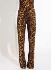 NORMA KAMALI | Boot Pant in Leopard