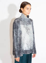 AVANT TOI | High Neck Pullover with Sequins and Slits