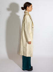 AVANT TOI | Long Rever Coat in Cream