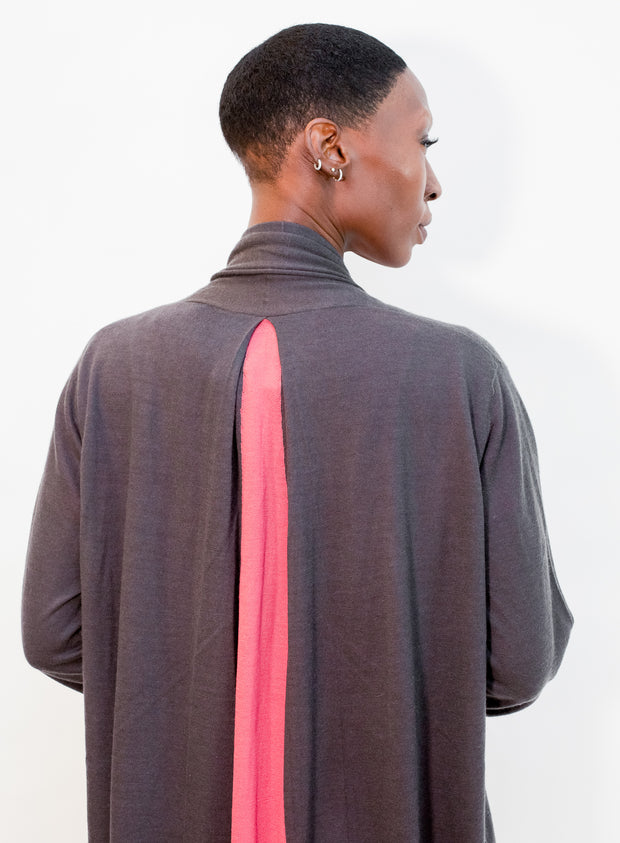 FRENCKENBERGER | Straight Split Cardigan