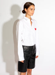 COMME DES GARÇONS PLAY | Single Heart Button-Up