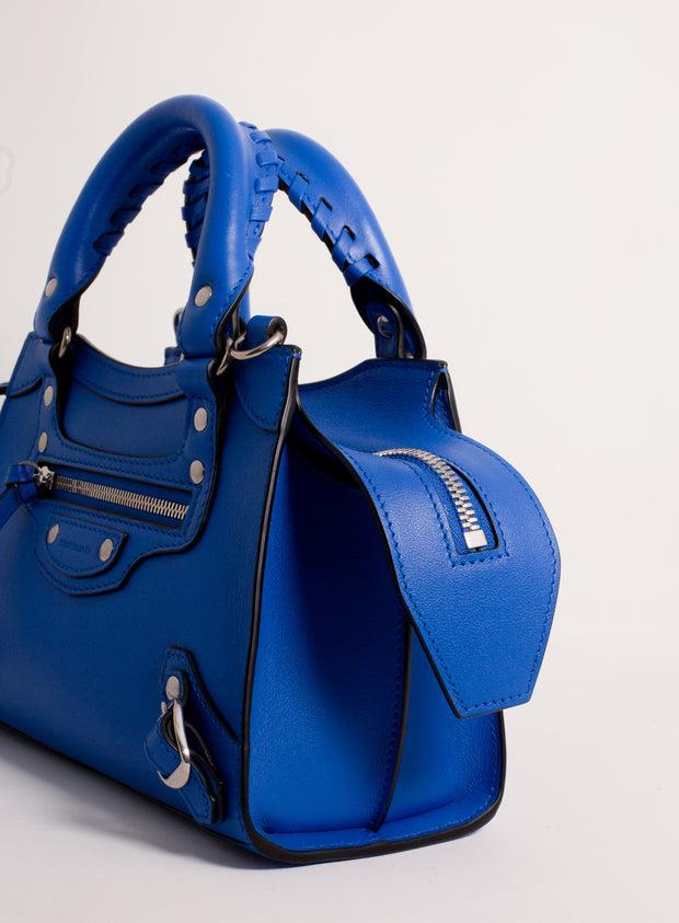 BALENCIAGA | Neo Classic City Nano in Blue