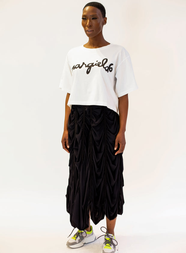 MM6 MAISON MARGIELA | Gathered Skirt in Black
