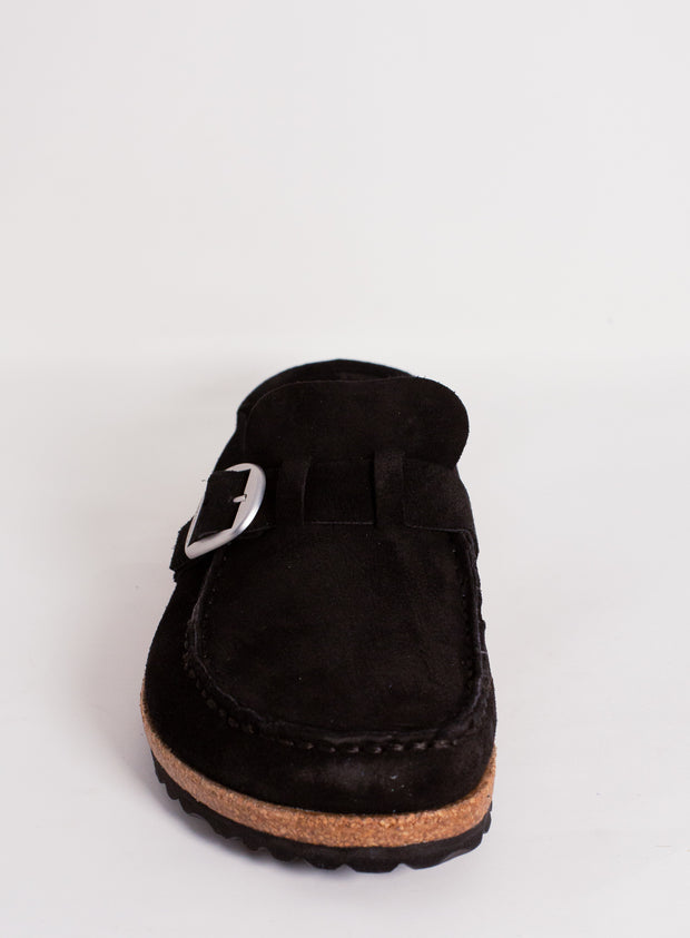 BIRKENSTOCK | Buckley Mule in Black Suede