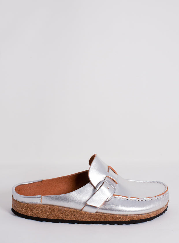 BIRKENSTOCK | Buckley Mule in Silver