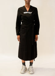 MM6 MAISON MARGIELA | Logo Lab Coat Dress