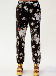 N°21 | Silk Floral Cropped Trousers