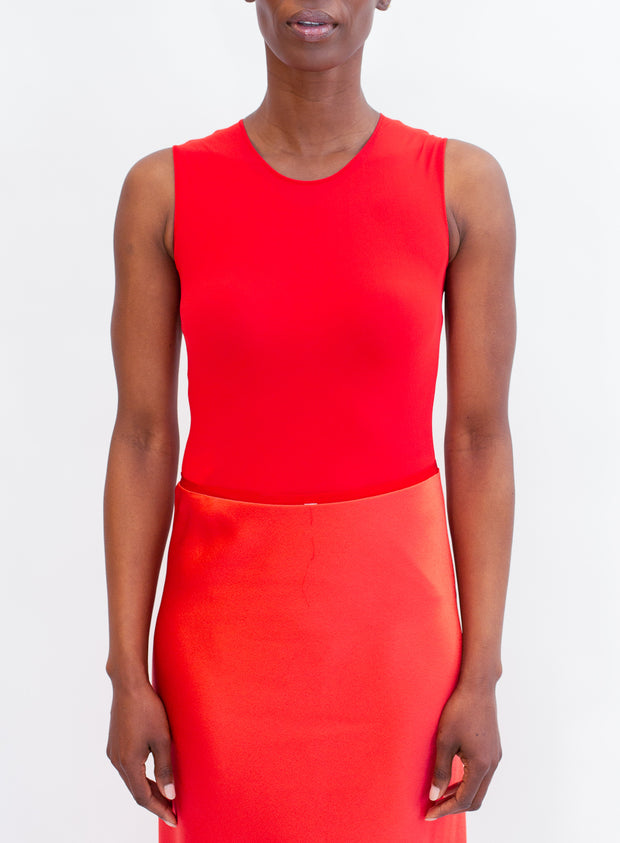 MAISON MARGIELA | Body Suit in Red