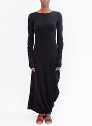 MAISON MARGIELA | Long Sleeve Dress in Black