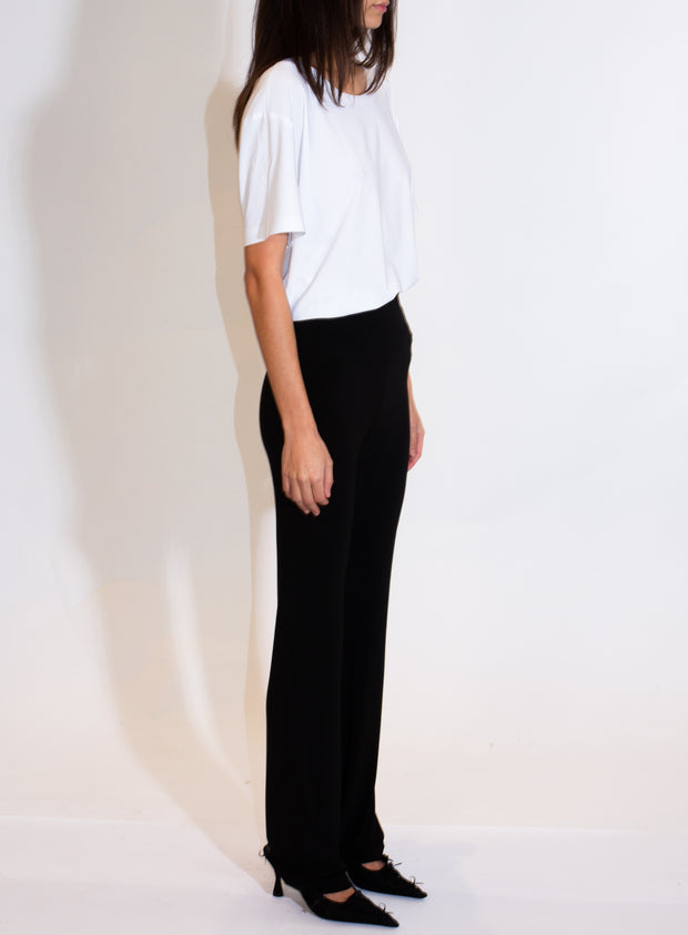 NORMA KAMALI | Boot Pant in Black
