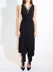 NORMA KAMALI | Goddess Dress in Black