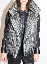 NORMA KAMALI | Tweed Sleeping Bag Vest