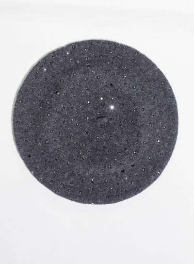 KOKIN | Sparkle Beret in Charcoal