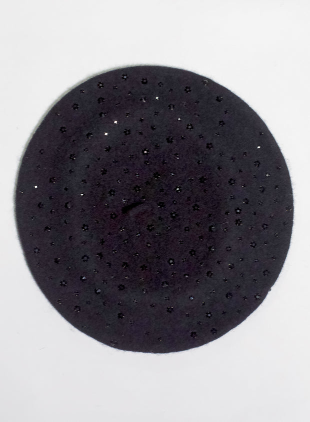KOKIN | Sparkle Beret in Black