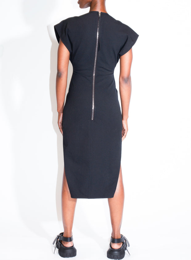 RICK OWENS | V Dress in Black