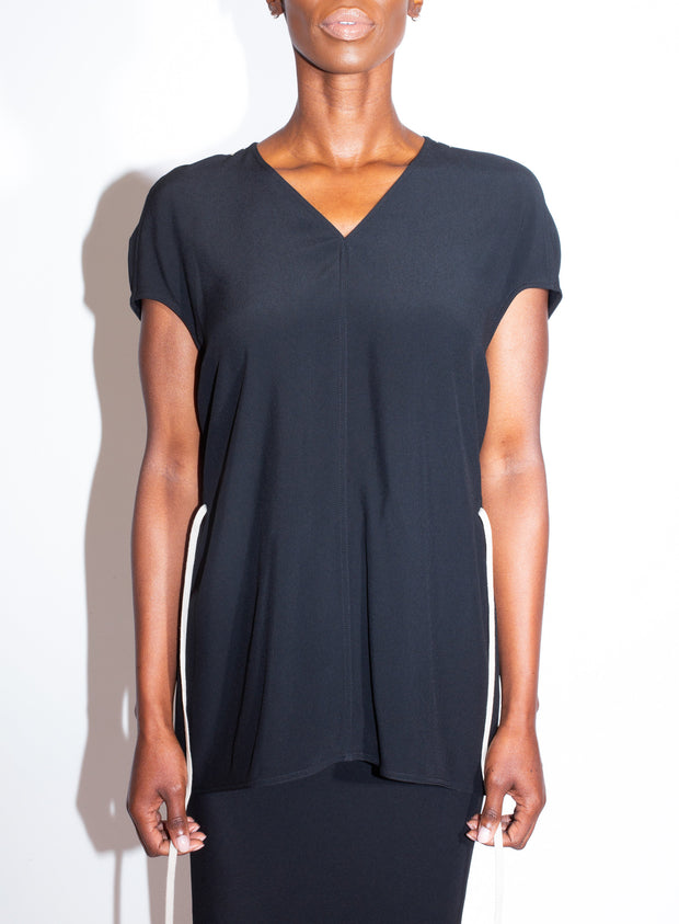 RICK OWENS | Island Top in Black