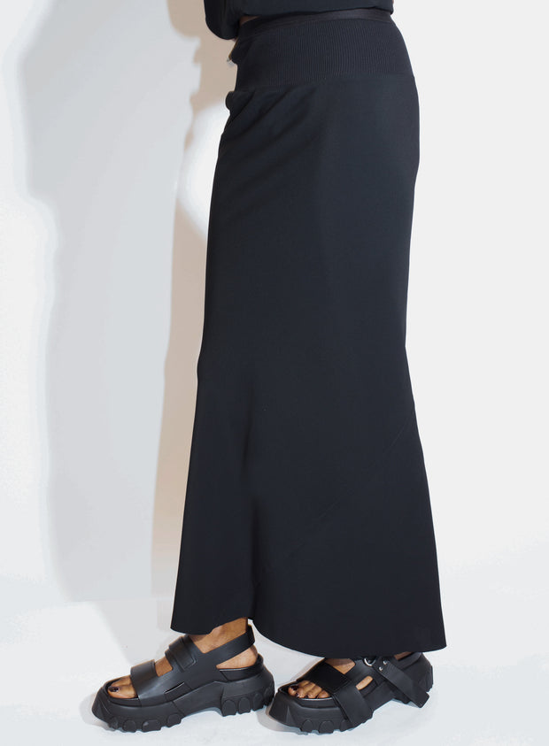 RICK OWENS | Calf Length Skirt in Black