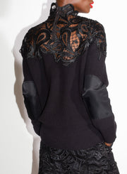 SACAI | Paisley Lace Pullover