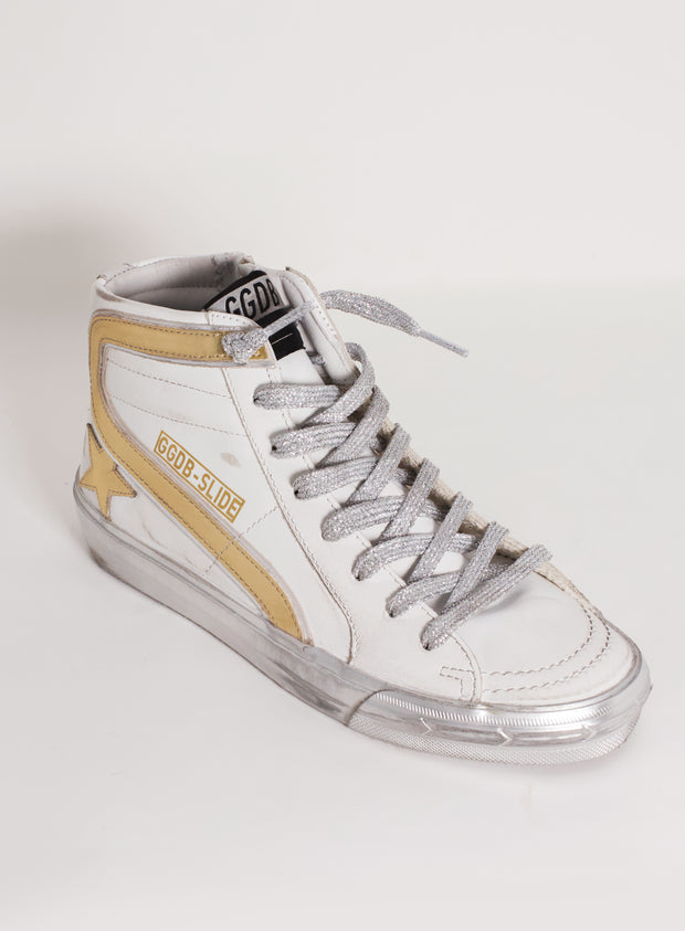 GOLDEN GOOSE | Slide Wave Sparkle Sneaker