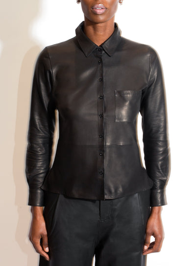 AS by DF | Leather Shirt